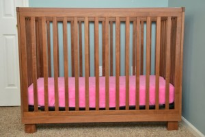 non toxic solid wood cribs