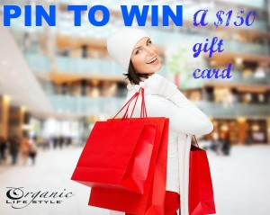 Organic gifts on sale and win $150 gift card